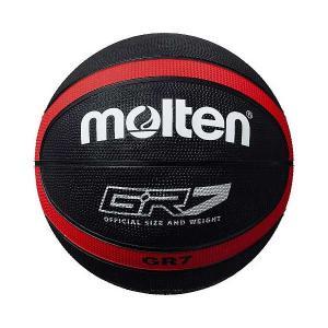 モルテン バスケットボール Molten GR7 バスケットボール 7号球 ブラック×レッド MT-BGR7KR 返品種別A joshin