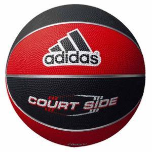アディダス バスケットボール adidas コートサイド 7号球 レッド×ブラック MT-AB7122RBK 返品種別A joshin