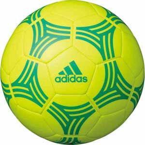 アディダス リフティングボール 直径約18cm (人工皮革) adidas タンゴ (ソーラーイエロー×ハイレスグリーン) AMST12Y 返品種別A|joshin