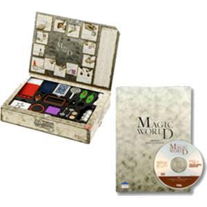 テンヨー マジックワールド DVD付き 返品種別B|joshin
