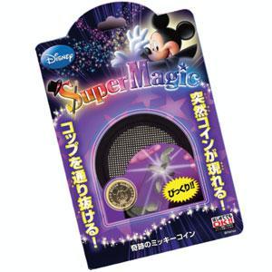 テンヨー ディズニーマジック 奇跡のミッキーコイン ミッキーマウス手品 返品種別B|joshin