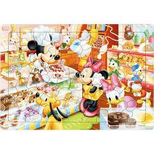 テンヨー ディズニー チャイルドパズル ミッキーのケーキやさん 80ピース 返品種別B