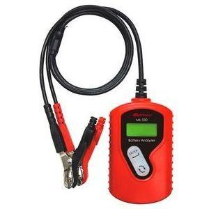 大自工業 バッテリー診断機 DC12V用 収納バッグ付 Meltec ML-100 返品種別A