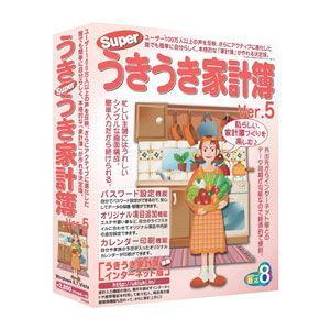 アイアールティ Superうきうき家計簿 Ver.5 返品種別B|joshin
