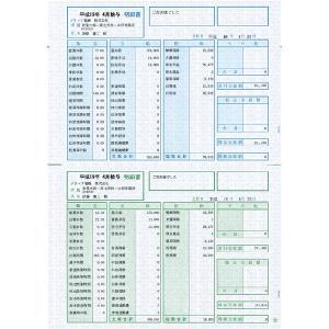ソリマチ SR2101給与・賞与明細書(明細型)100枚入 SR2101 返品種別A|joshin