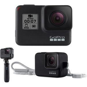 GoPro GoPro HERO7 Black ショーティー スリーブランヤード(ブラック)限定セット ゴープロ ヒーロー7 CHDHX-701-FW 返品種別A|joshin