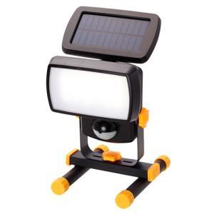 大進 ソーラー充電式LEDセンサーライト DAISHIN DLS-400T 返品種別A|joshin