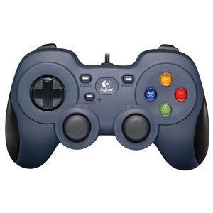 ロジクール USBゲームパッド(ダークブルー) Logicool F310 Gamepad F310r 返品種別A