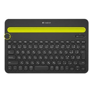 ロジクール マルチデバイス対応Bluetoothキーボード(ブラック) Logicool Bluet...