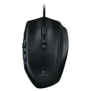 ロジクール レーザー MMO ゲーミングマウス Logicool MMO Gaming Mouse ...