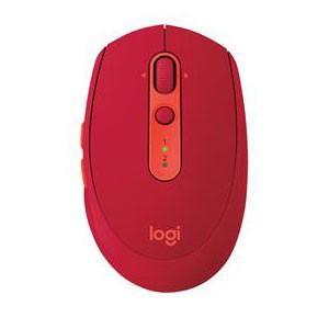 ロジクール M590 Multi-Device Silent サイレントワイヤレスマウス(ルビー) ...