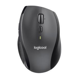 ロジクール 2.4GHzワイヤレス 7ボタン オプティカルマラソンマウス Logicool Mara...