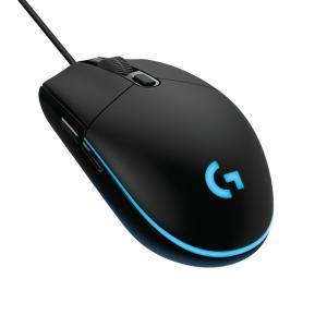 ロジクール G203 LIGHTSYNCゲーミング マウス(ブラック) Logicool G203 LIGHTSYNC Gaming Mouse G203-BK 返品種別Aの画像