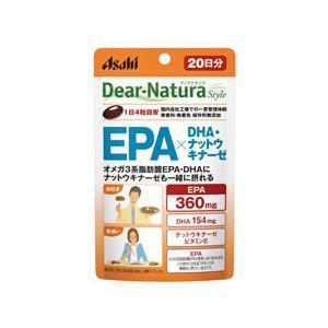 ディアナチュラEPA×DHA・ナットウキナーゼ 20日 アサヒグループ食品 DNS)EPA*DHA80T 返品種別B|joshin
