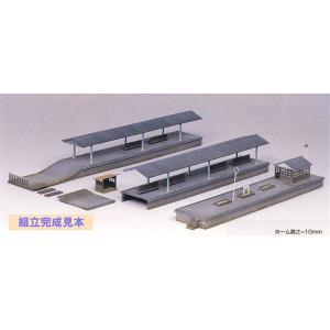 グリーンマックス (再生産)(N) 2118 ローカル型島式ホームセット 返品種別B|joshin