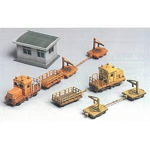 グリーンマックス (再生産)(N) 2151 保線区車両と詰所(未塗装組立キット) 返品種別B|joshin