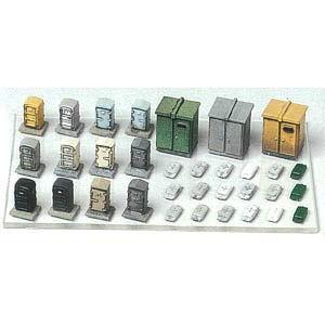 グリーンマックス (再生産)(N) 2181 キュービクル・継電箱・ATS地上子(未塗装組立キット) 返品種別B|joshin