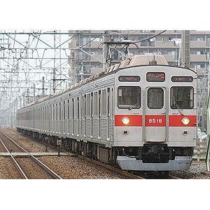 グリーンマックス (再生産)(N) 418B 東急8500系 増結用中間車5両セット(未塗装組立キット) 返品種別B joshin
