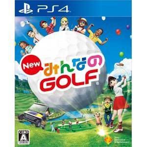 ソニー・インタラクティブエンタテインメント (PS4)New みんなのGOLFみんゴル みんなのゴルフ 返品種別B joshin