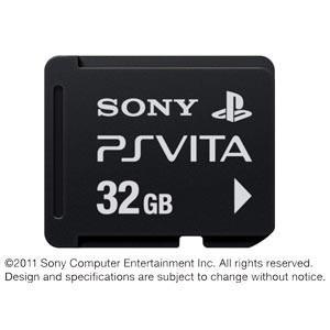 PlayStation Vita対応 メモリーカード 32GB PCH-Z321J PSVITA用周辺機器 の商品画像