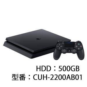 ソニー・インタラクティブエンタテインメント PlayStation 4 ジェット・ブラック 500GB 返品種別B