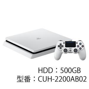 ソニー・インタラクティブエンタテインメント PlayStation 4 グレイシャー・ホワイト 500GB 返品種別B|joshin