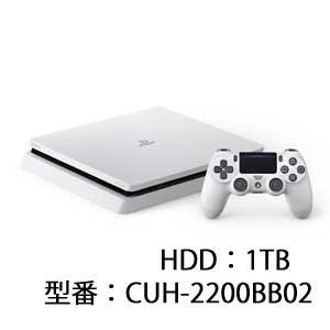 ソニー・インタラクティブエンタテインメント PlayStation 4 グレイシャー・ホワイト 1TB 返品種別B|joshin