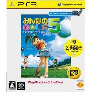 ソニー・コンピュータエンタテインメント (PS3)みんなのGOLF 5 PlayStation 3 the Best(価格改訂版) 返品種別B|joshin
