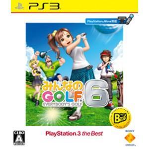 SCE (PS3)みんなのGOLF 6 PlayStation 3 the Best 返品種別B|joshin