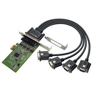 ラトックシステム 4ポート RS-232C・デジタルI/ O PCI Expressボード REX-PE64D 返品種別A|joshin