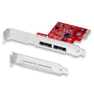 ラトックシステム eSATA 2ポート PCI Express ボードロープロファイル対応 REX-PE32X 返品種別A|joshin
