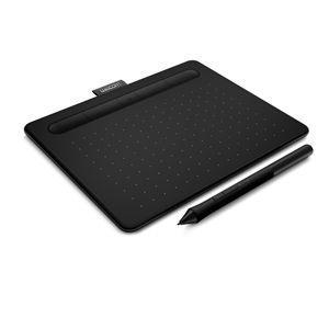 WACOM ペンタブレット(ブラック) Wacom Intuos Small ワイヤレス CTL-4100WL/ K0 返品種別A|joshin