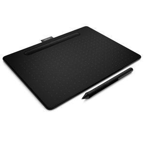 WACOM ペンタブレット(ブラック) Wacom Intuos Medium ワイヤレス CTL-6100WL/ K0 返品種別A|joshin