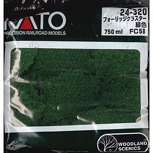 カトー 24-320 フォーリッジクラスター 緑色(FC58) 返品種別B joshin