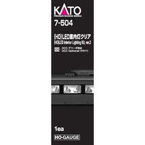 カトー (HO) 7-504 LED室内灯クリア(1両分) 返品種別B