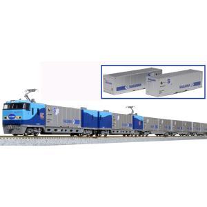 カトー (N) 10-1721 M250系 スーパーレールカーゴ(U50Aコンテナ積載)基本セット(...