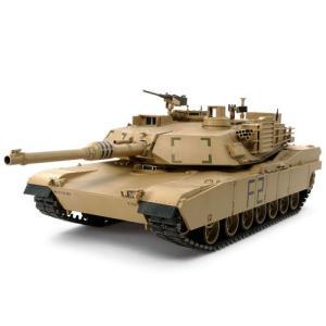 タミヤ 1/ 16 ビッグタンク アメリカ M1A2 エイブラムス戦車(ディスプレイモデル)(36212)プラモデル 返品種別B|joshin