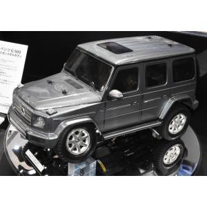 タミヤ 1/ 10 電動RC組立キット メルセデス・ベンツ G500 塗装済みブライトガンメタルボディ(CC-02シャーシ)(47441)ラジコン 返品種別B
