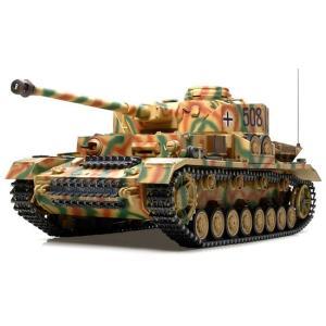タミヤ 1/ 16 RC ドイツ IV号戦車J型 フルオペレ...