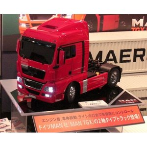 タミヤ 1/ 14 電動RC組立 ビッグトラック MAN TGX 18.540 4×2 XLX フルオペレーションセット(56328)ラジコン 返品種別B|joshin