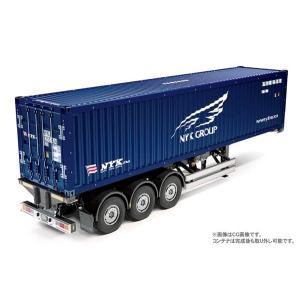 タミヤ 1/ 14 ビックトラック トレーラートラック用 日本郵船 40フィートコンテナ セミトレーラー(56330) 返品種別B|joshin