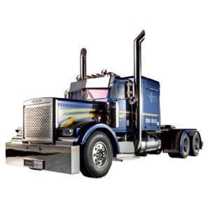 タミヤ 1/ 14 電動RCカー組立キット ビックトラック トレーラーヘッド グランドハウラー フルオペレーションセット(56343)ラジコン 返品種別B|joshin