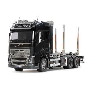 タミヤ 1/ 14 電動RCビッグトラック ボルボFH16グローブトロッター750 6x4ティンバートラック(56360)ラジコン 返品種別B|joshin