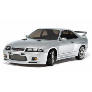 タミヤ 1/ 10 電動RCカー組立キット NISSAN スカイライン GT-R R33(TT-02Dシャーシ)ドリフトスペック(58604)ラジコン 返品種別B|joshin