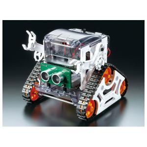 タミヤ プログラミング工作シリーズNo.1 マイコンロボット工作セット(クローラータイプ)(71201)工作セット 返品種別B