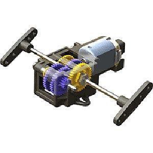 タミヤ シングルギアボックス(4速タイプ)(70167)組立キット 返品種別B joshin