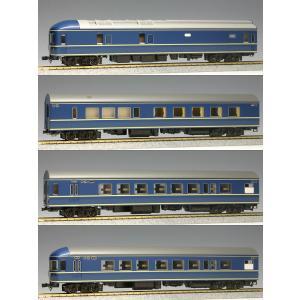 カトー (再生産)(HO) 3-504 20系特急形寝台客車 4両基本セット 返品種別B