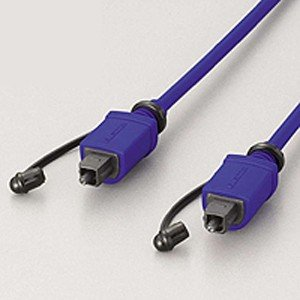 エレコム 光デジタルケーブル(0.5m・1本)(角型⇔角型) ELECOM DH-HK05 返品種別A|joshin