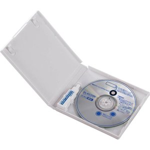 エレコム DVD/ CD用レンズクリーナー (湿式) CK-MUL3 返品種別A