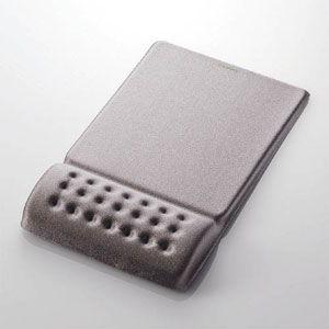 エレコム COMFY (カンフィー)リストレスト一体型マウスパッド(グレー) MP-095-GY 返品種別A joshin